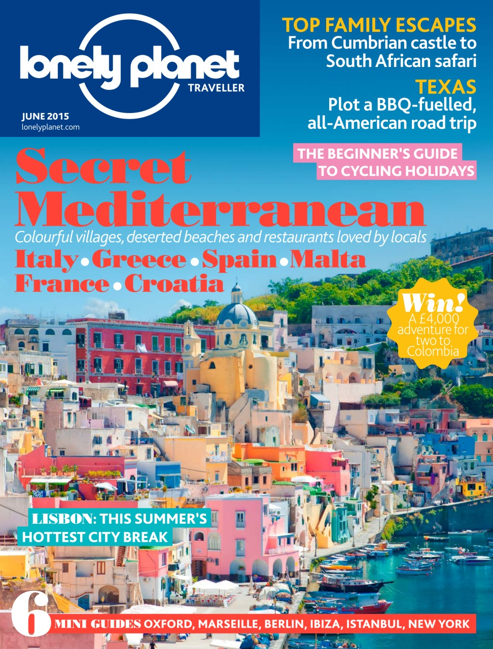 Lonely Planet Traveller - June 2015 free download