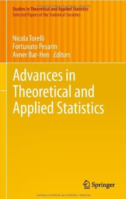Advances in Theoretical and Applied Statistics free download