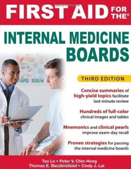 First Aid for the Internal Medicine Boards (3rd Edition) free download