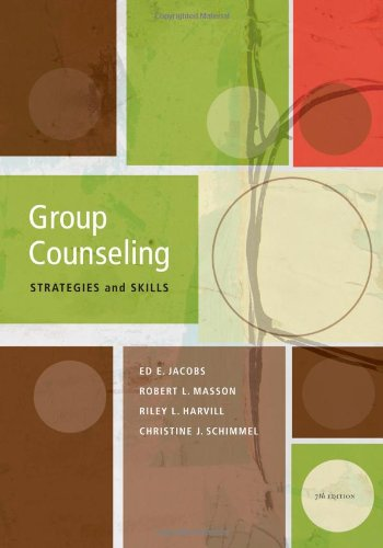 Group Counseling: Strategies and Skills, 7 edition free download