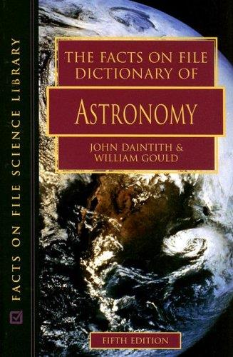 The Facts on File Dictionary of Astronomy (5th edition) free download