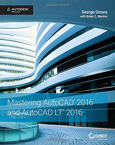 Mastering AutoCAD 2016 and AutoCAD LT 2016 free download