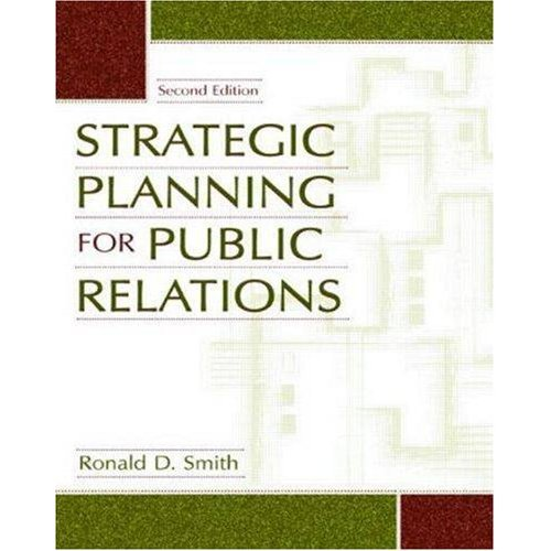 Strategic Planning for Public Relations free download