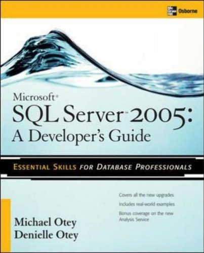 Microsoft SQL Server 2005 Developer's Guide free download