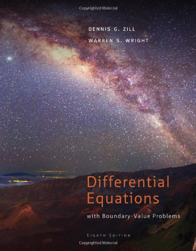 Differential Equations with Boundary-Value Problems, 8th edition free download