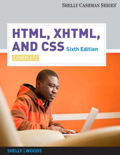 HTML, XHTML, and CSS: Complete, 6 edition free download