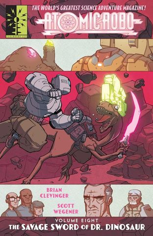 Atomic Robo v08 - ... and the Savage Sword of Dr. Dinosaur (2015) free download