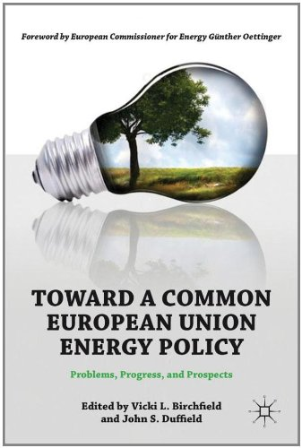 Toward a Common European Union Energy Policy: Problems, Progress, and Prospects free download