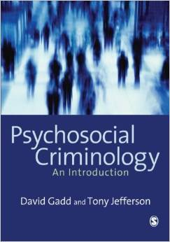 Psychosocial Criminology free download