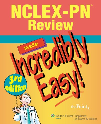 NCLEX-PN? Review Made Incredibly Easy! free download