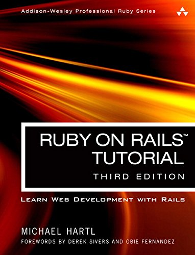 Ruby on Rails Tutorial: Learn Web Development with Rails (3rd Edition) free download