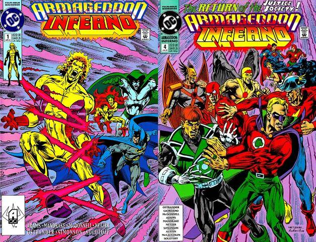 Armageddon - Inferno #1-4 (1992) Complete free download