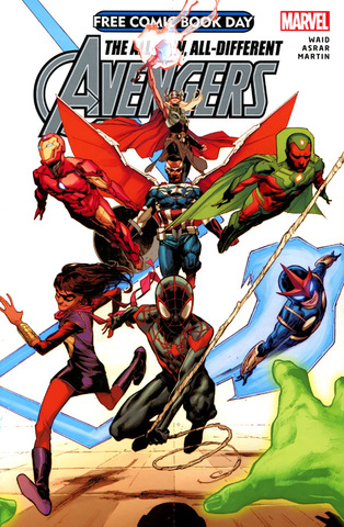 Avengers - Free Comic Book Day 2015 01 (2015) free download