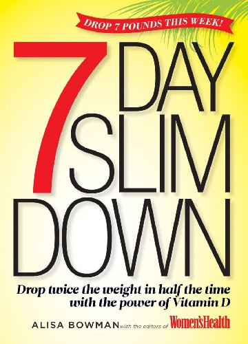 The 7-Day Slim Down: Drop Twice the Weight in Half the Time with the Vitamin D Diet free download