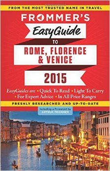 Frommer's EasyGuide to Rome, Florence and Venice 2015 free download