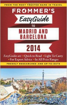 Frommer's EasyGuide to Madrid and Barcelona 2014 free download