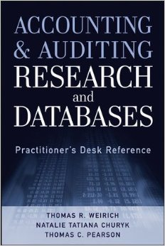 Accounting and Auditing Research and Databases: Practitioner's Desk Reference free download