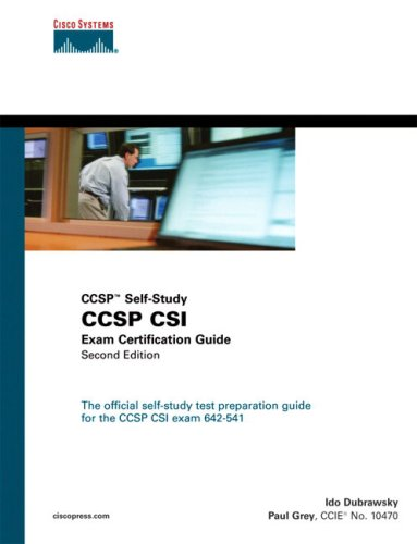 CCSP CSI Exam Certification Guide (2nd Edition) free download