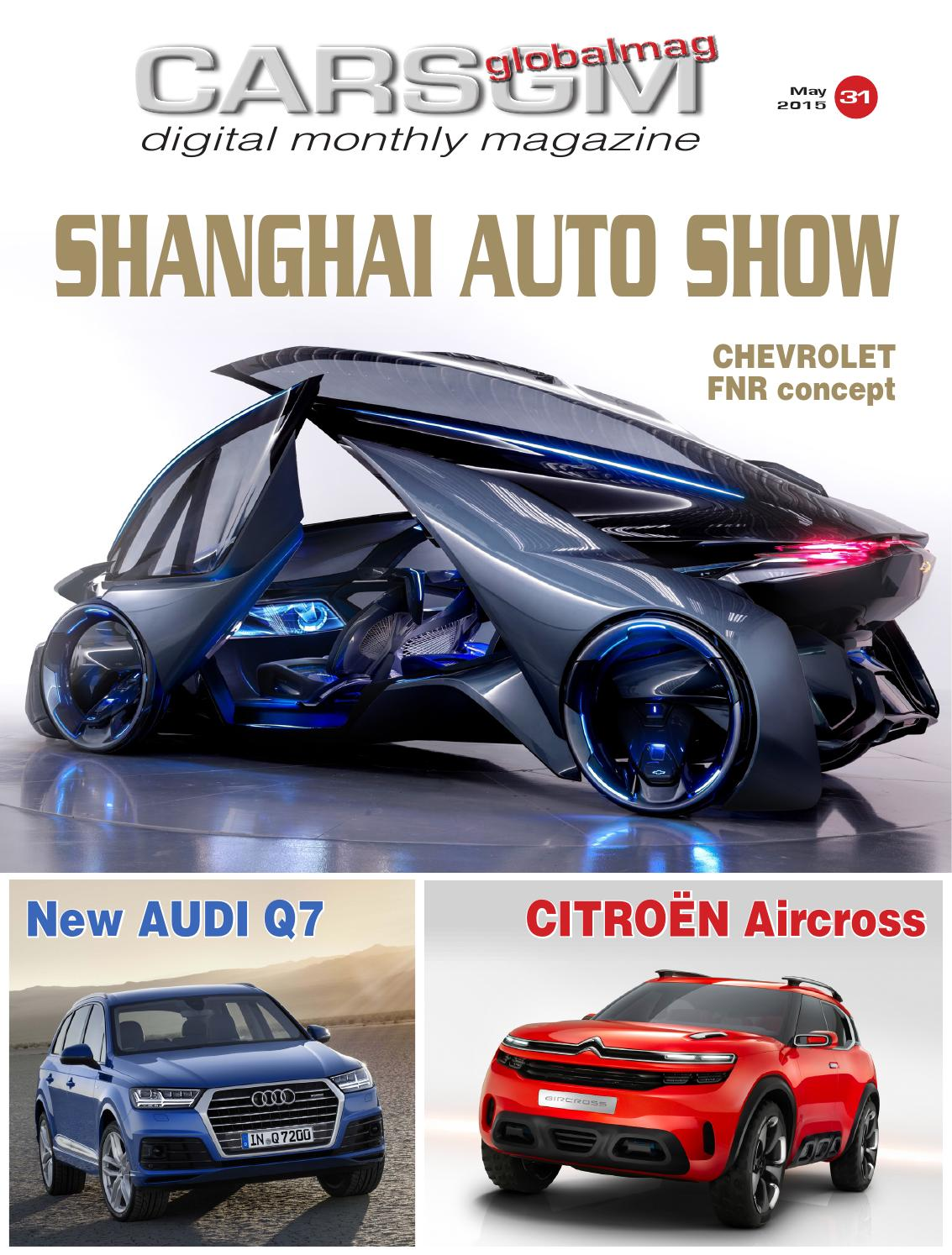 Cars Global Magazine - May 2015 free download