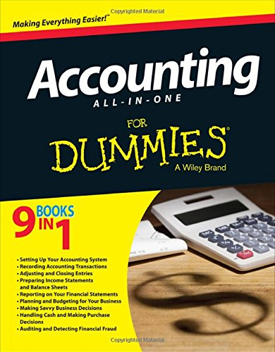 bookkeeping for dummies free download pdf