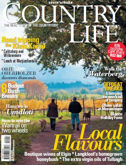 South African Country Life Magzine June 2015 free download