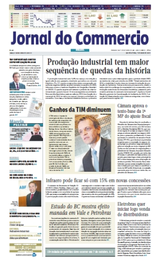 Jornal do Commercio - 7 de maio de 2015 - Quinta free download