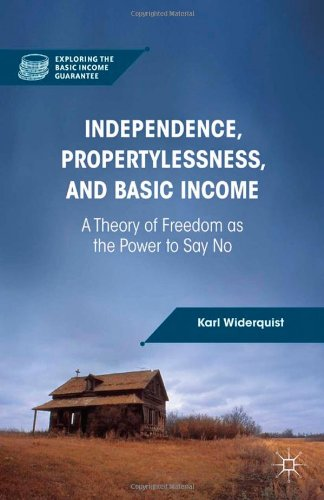 Independence, Propertylessness, and Basic Income: A Theory of Freedom as the Power to Say No free download