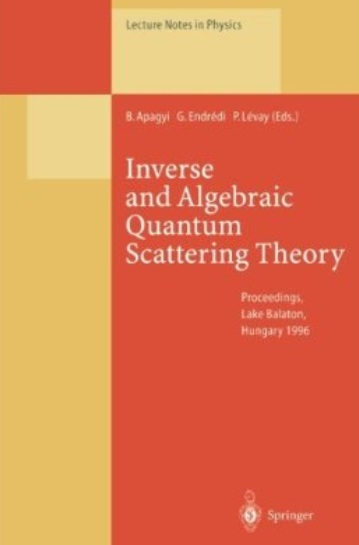 Inverse and Algebraic Quantum Scattering Theory free download