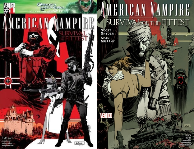 American Vampire - Survival of the Fittest #1-5 (2011) Complete free download
