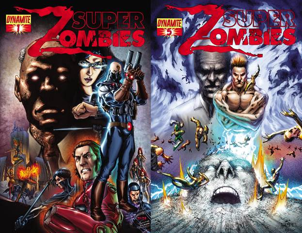 Super Zombies #1-5 (2009) Complete free download