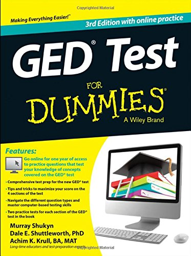 GED Test For Dummies: with Online Practice, 3rd Edition free download