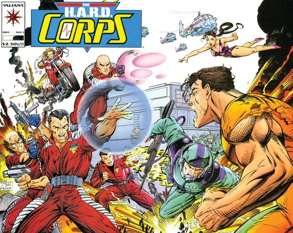 H.A.R.D. Corps #1-15 (1992-1995) free download