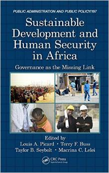 Sustainable Development and Human Security in Africa: Governance as the Missing Link free download