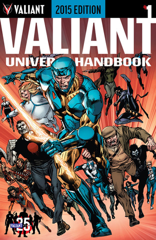 Valiant Universe Handbook 2015 Edition 001 (2015) free download
