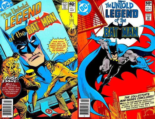 The Untold Legend of the Batman #1-3 (1980) Complete free download