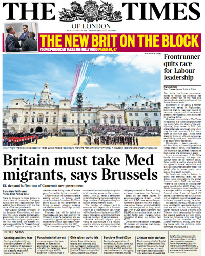 The London Times May 11 2015 free download