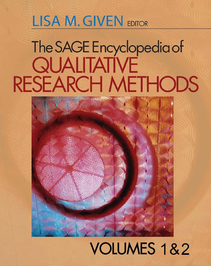 The SAGE Encyclopedia of Qualitative Research Methods by Lisa M. Given free download