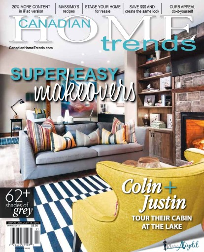 Canadian Home Trends - Spring 2015 free download