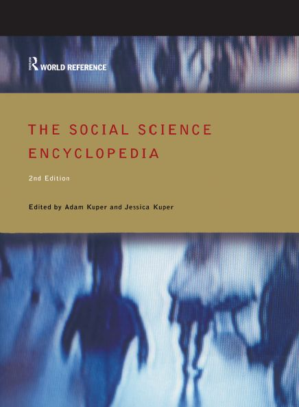 The Social Science Encyclopedia free download