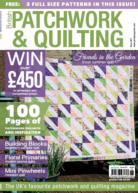 Patchwork and Quilting - June 2015 free download