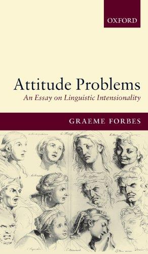 Attitude Problems: An Essay on Linguistic Intensionality free download