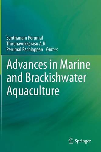 Advances in Marine and Brackishwater Aquaculture free download