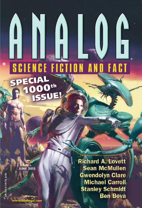 Analog Science Fiction and Fact - June 2015 free download