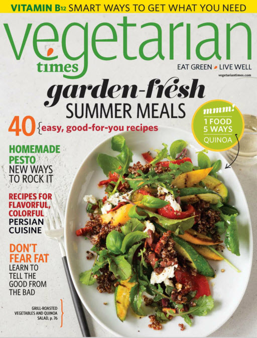 Vegetarian Times - June 2015 free download