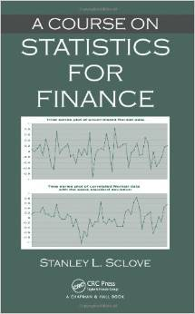 A Course on Statistics for Finance free download