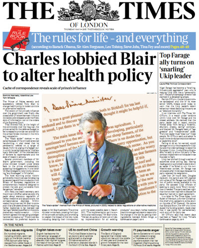 The London Times May 14 2015 free download