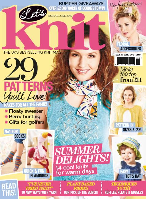 Let's Knit - June 2015 free download