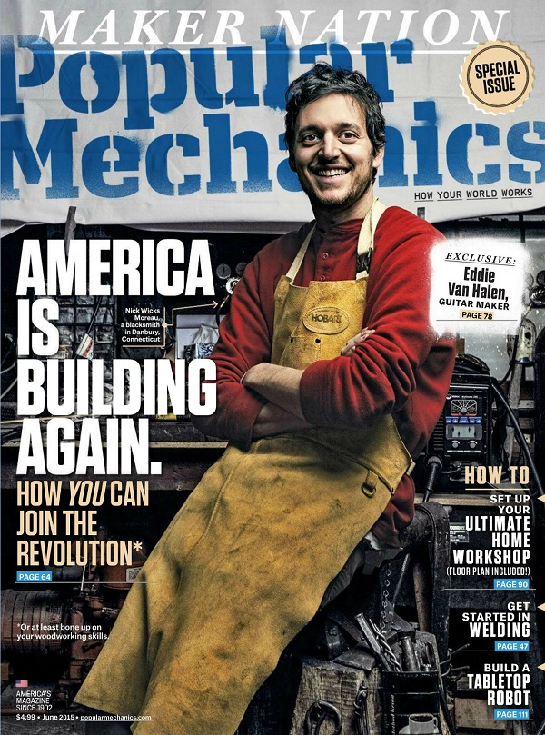 Popular Mechanics USA - June 2015 free download