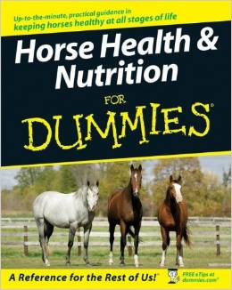 Horse Health and Nutrition For Dummies free download