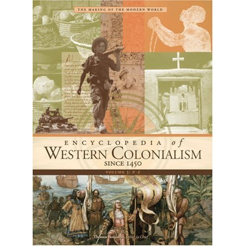Encyclopedia of Western Colonialism Since 1450 free download